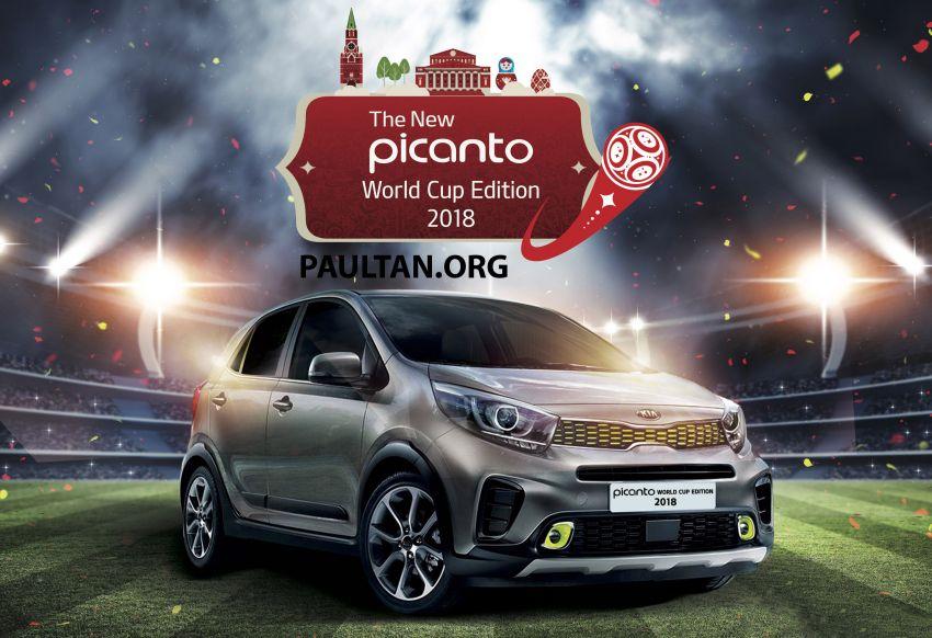 Kia Picanto World Cup Edition 2018 revealed for Malaysia – X-Line trim, AEB, leather seats, sunroof Image #833118
