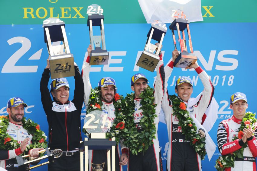Le Mans 2018 – Toyota finally wins, M'sian team 10th Image #827670