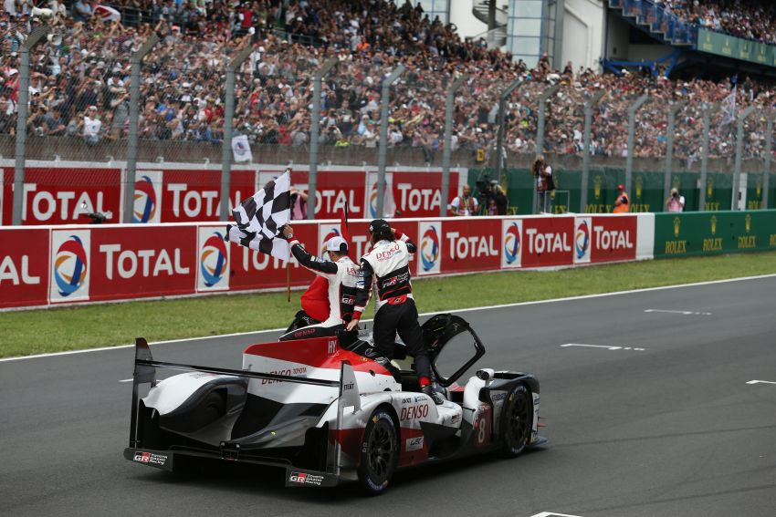 Le Mans 2018 – Toyota finally wins, M'sian team 10th Image #827671
