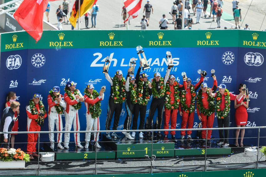 Le Mans 2018 – Toyota finally wins, M'sian team 10th Image #827698