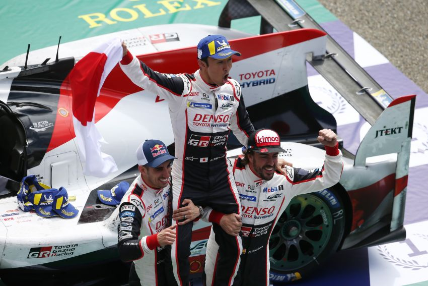 Le Mans 2018 – Toyota finally wins, M'sian team 10th Image #827674