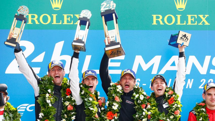 Le Mans 2018 – Toyota finally wins, M'sian team 10th Image #827728