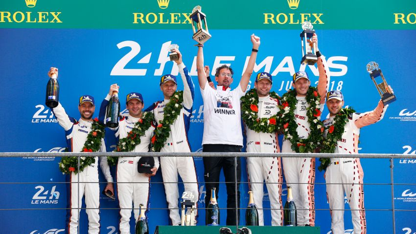 Le Mans 2018 – Toyota finally wins, M'sian team 10th Image #827732