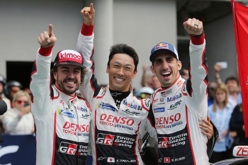 Le Mans 2018 – Toyota finally wins, M'sian team 10th Image #827677