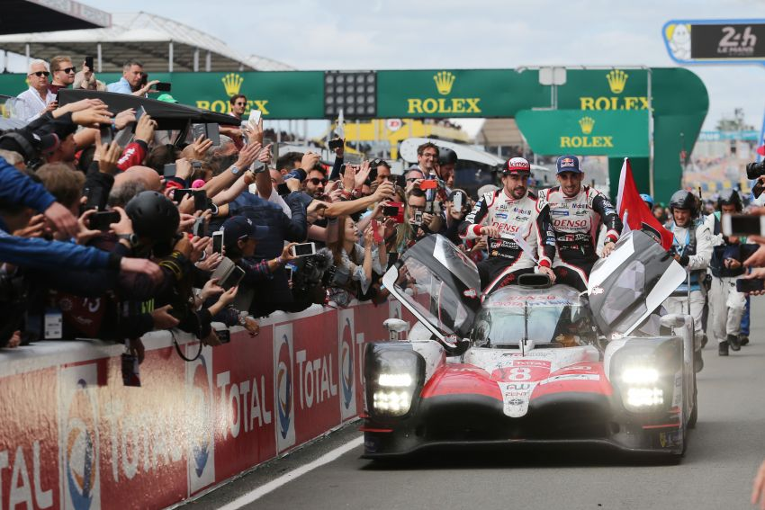 Le Mans 2018 – Toyota finally wins, M'sian team 10th Image #827678