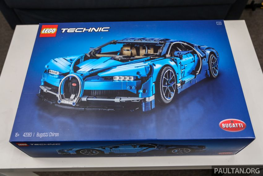 FIRST LOOK: Lego Technic Bugatti Chiron Malaysian unboxing plus gallery – 1:8, 3,599 pieces, RM1,999! Image #824959