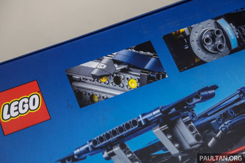 FIRST LOOK: Lego Technic Bugatti Chiron Malaysian unboxing plus gallery – 1:8, 3,599 pieces, RM1,999! Image #824973