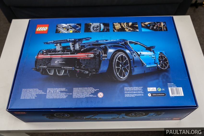 FIRST LOOK: Lego Technic Bugatti Chiron Malaysian unboxing plus gallery – 1:8, 3,599 pieces, RM1,999! Image #824960