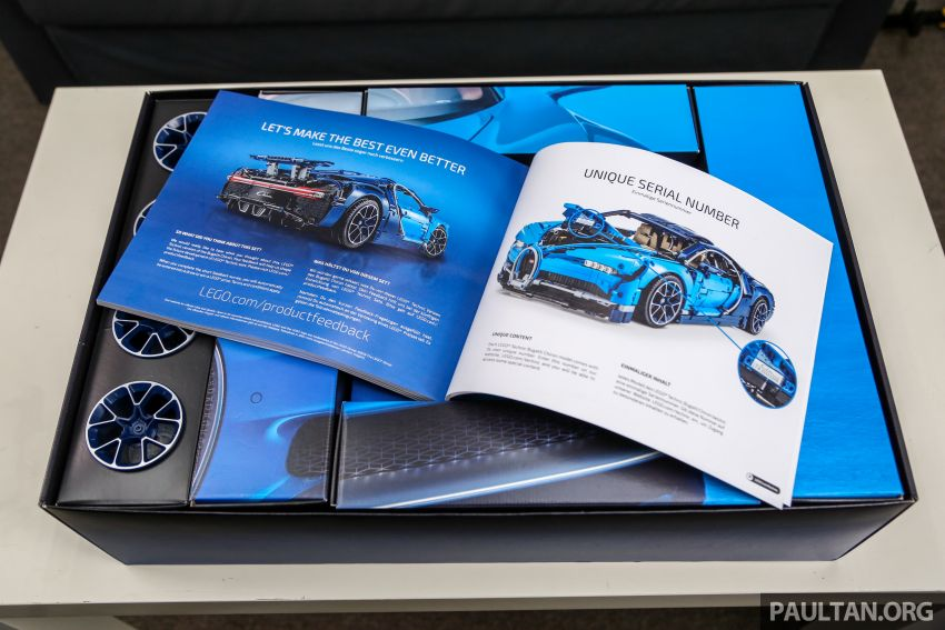 FIRST LOOK: Lego Technic Bugatti Chiron Malaysian unboxing plus gallery – 1:8, 3,599 pieces, RM1,999! Image #824966