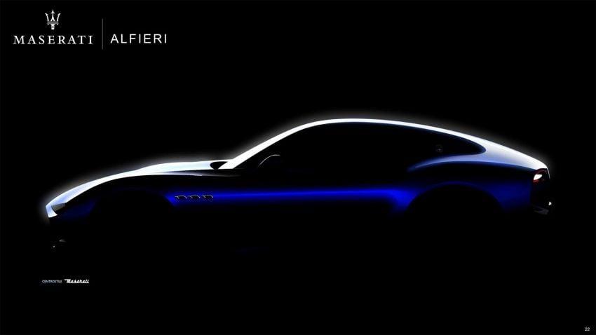 Maserati Alfieri – 300 km/h EV coupe targets Tesla; electrification expansion, SUV below Levante planned Image #824751