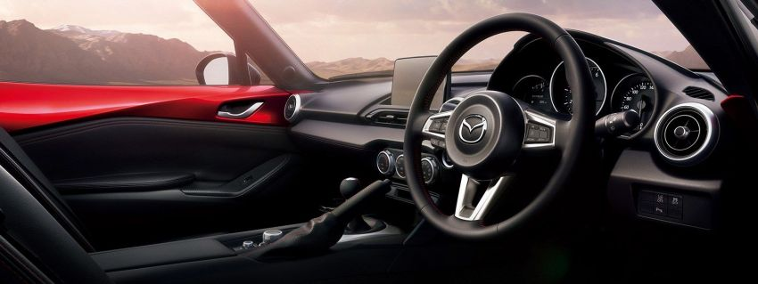2019 Mazda MX-5 gets significant power bump, raised 7,500 rpm limit, active safety and telescopic steering Image #826159