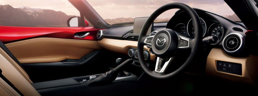 2019 Mazda MX-5 gets significant power bump, raised 7,500 rpm limit, active safety and telescopic steering Image #826160