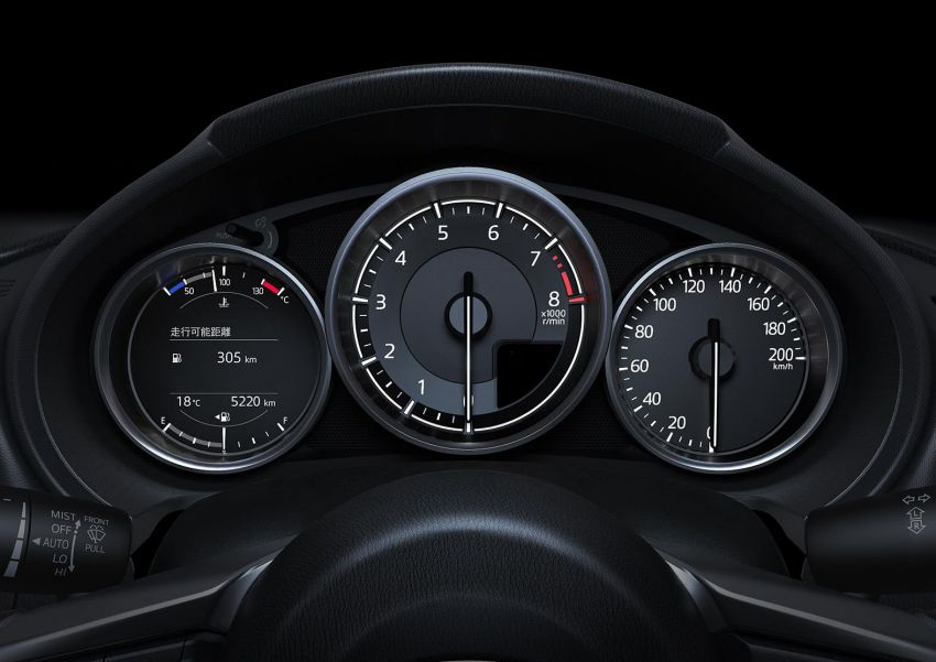 2019 Mazda MX-5 gets significant power bump, raised 7,500 rpm limit, active safety and telescopic steering Image #826171