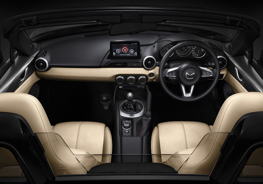 2019 Mazda MX-5 gets significant power bump, raised 7,500 rpm limit, active safety and telescopic steering Image #826175
