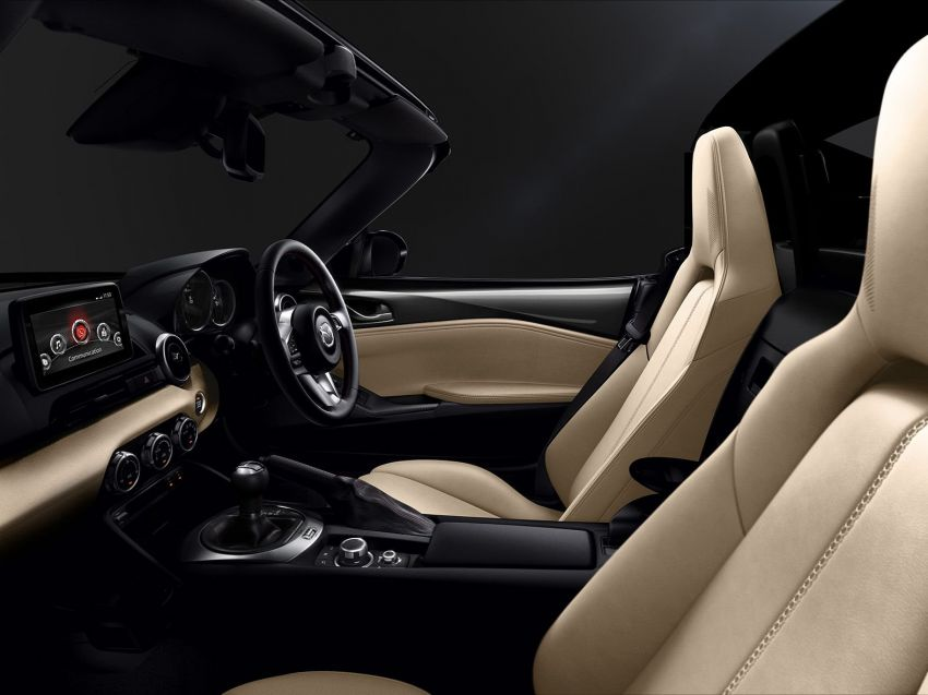 2019 Mazda MX-5 gets significant power bump, raised 7,500 rpm limit, active safety and telescopic steering Image #826176