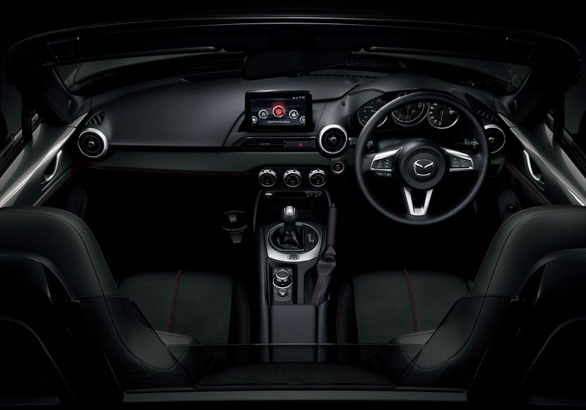 2019 Mazda MX-5 gets significant power bump, raised 7,500 rpm limit, active safety and telescopic steering Image #826177