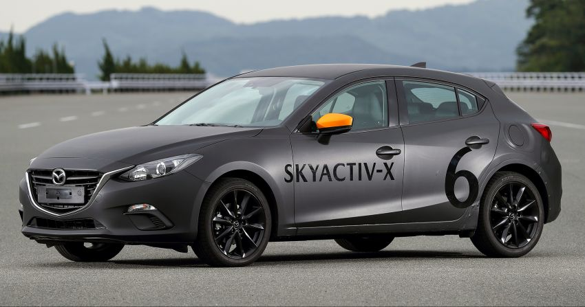 DRIVEN: 2019 Mazda 3 prototype with SkyActiv-X engine – is a high-tech petrol mill still relevant? Image #824890