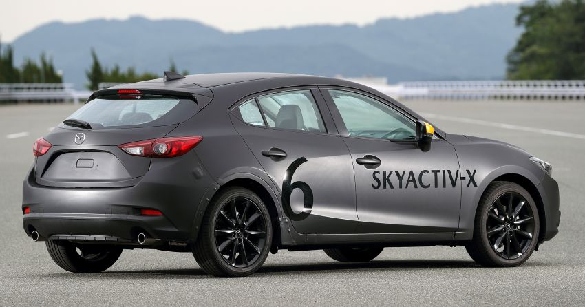 DRIVEN: 2019 Mazda 3 prototype with SkyActiv-X engine – is a high-tech petrol mill still relevant? Image #824891