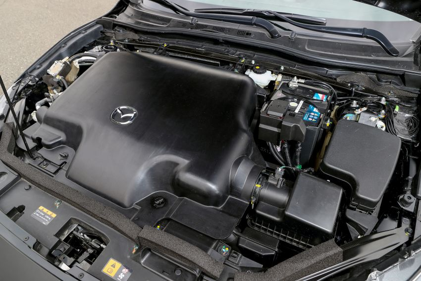 DRIVEN: 2019 Mazda 3 prototype with SkyActiv-X engine – is a high-tech petrol mill still relevant? Image #824892