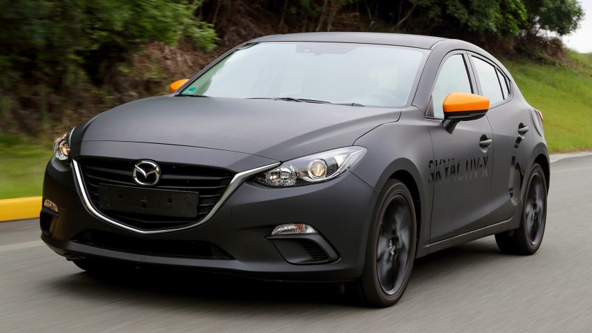 DRIVEN: 2019 Mazda 3 prototype with SkyActiv-X engine – is a high-tech petrol mill still relevant? Image #824893