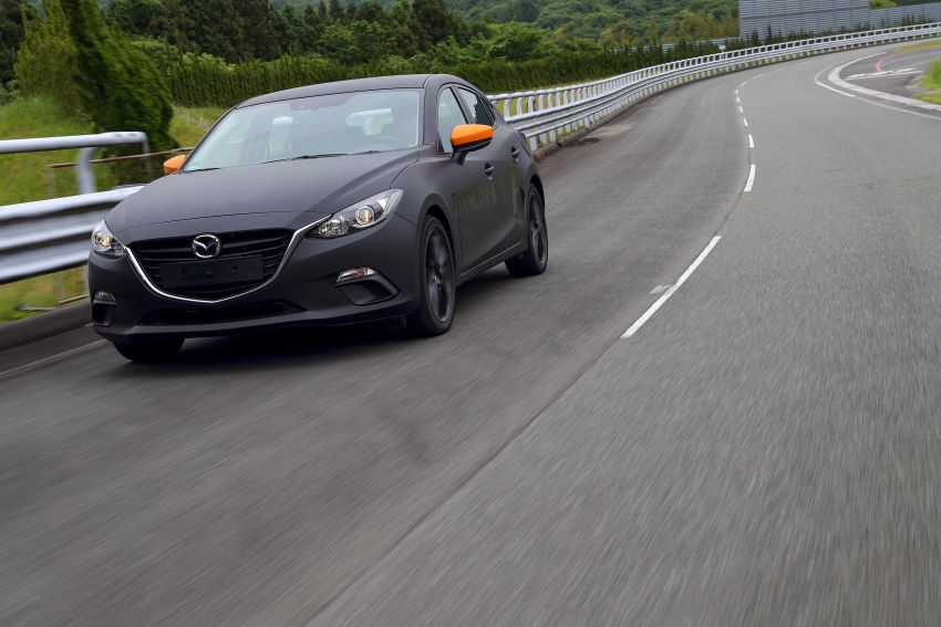 DRIVEN: 2019 Mazda 3 prototype with SkyActiv-X engine – is a high-tech petrol mill still relevant? Image #824894