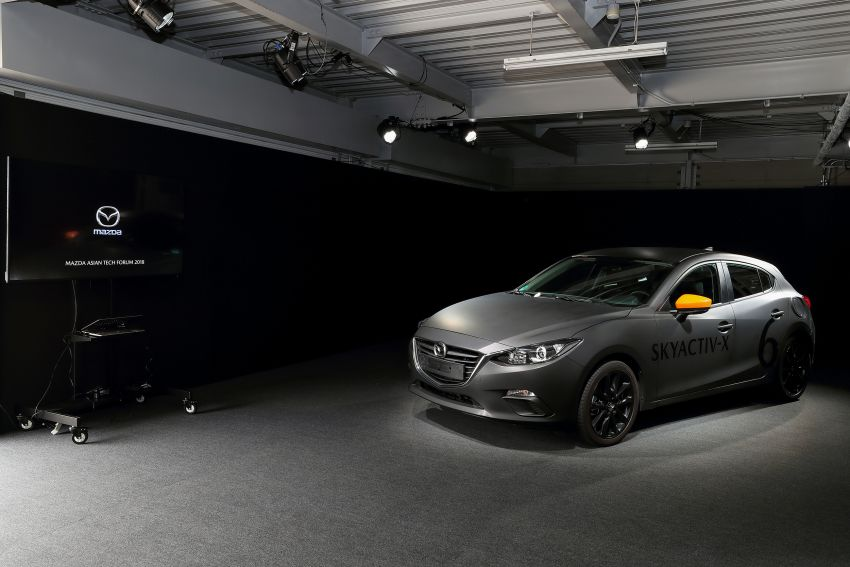DRIVEN: 2019 Mazda 3 prototype with SkyActiv-X engine – is a high-tech petrol mill still relevant? Image #824897