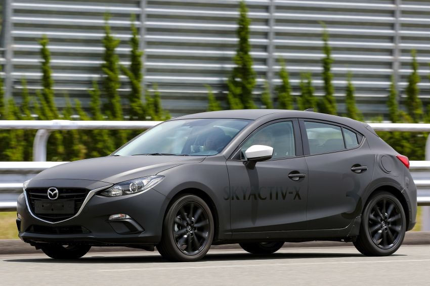 DRIVEN: 2019 Mazda 3 prototype with SkyActiv-X engine – is a high-tech petrol mill still relevant? Image #824904