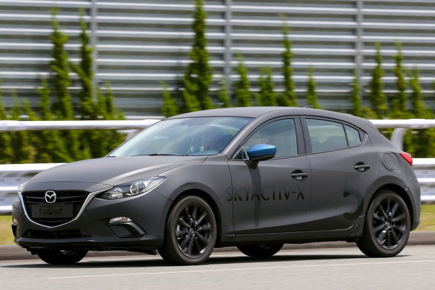 DRIVEN: 2019 Mazda 3 prototype with SkyActiv-X engine – is a high-tech petrol mill still relevant? Image #824905
