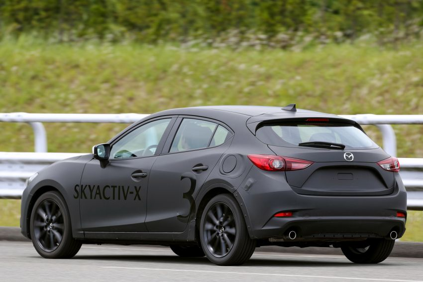 DRIVEN: 2019 Mazda 3 prototype with SkyActiv-X engine – is a high-tech petrol mill still relevant? Image #824906