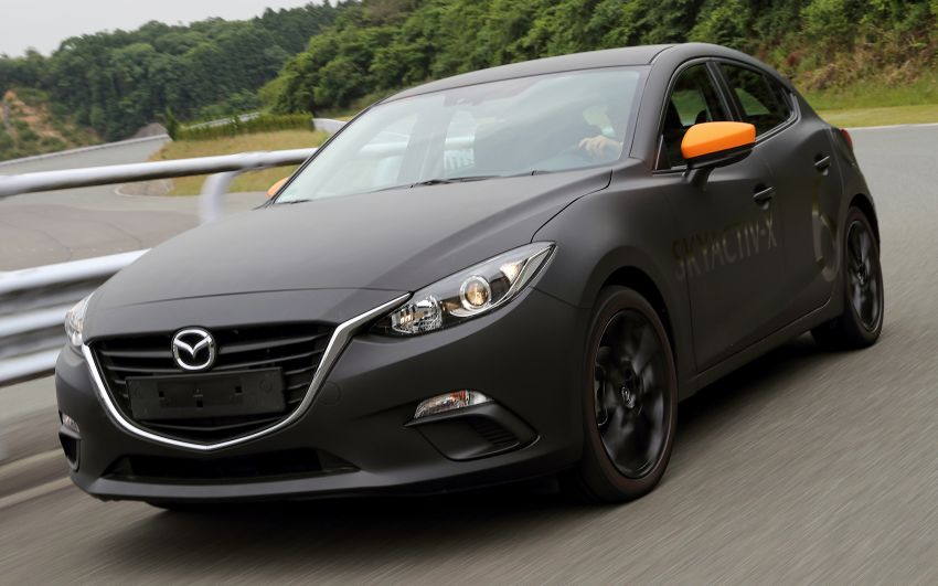 DRIVEN: 2019 Mazda 3 prototype with SkyActiv-X engine – is a high-tech petrol mill still relevant? Image #824908