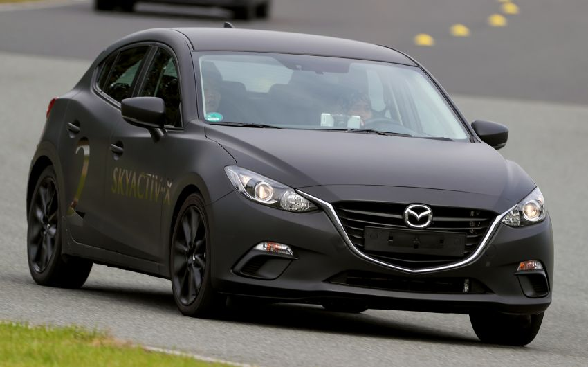 DRIVEN: 2019 Mazda 3 prototype with SkyActiv-X engine – is a high-tech petrol mill still relevant? Image #824912