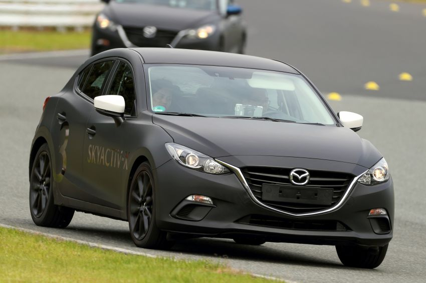 DRIVEN: 2019 Mazda 3 prototype with SkyActiv-X engine – is a high-tech petrol mill still relevant? Image #824913