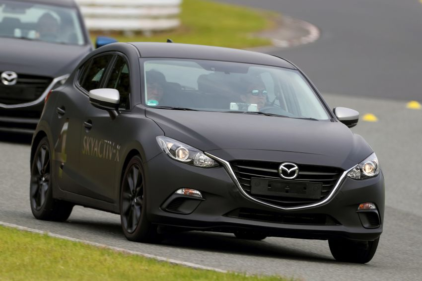 DRIVEN: 2019 Mazda 3 prototype with SkyActiv-X engine – is a high-tech petrol mill still relevant? Image #824914