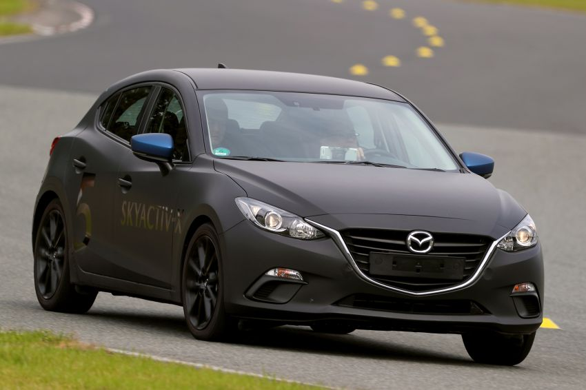 DRIVEN: 2019 Mazda 3 prototype with SkyActiv-X engine – is a high-tech petrol mill still relevant? Image #824915