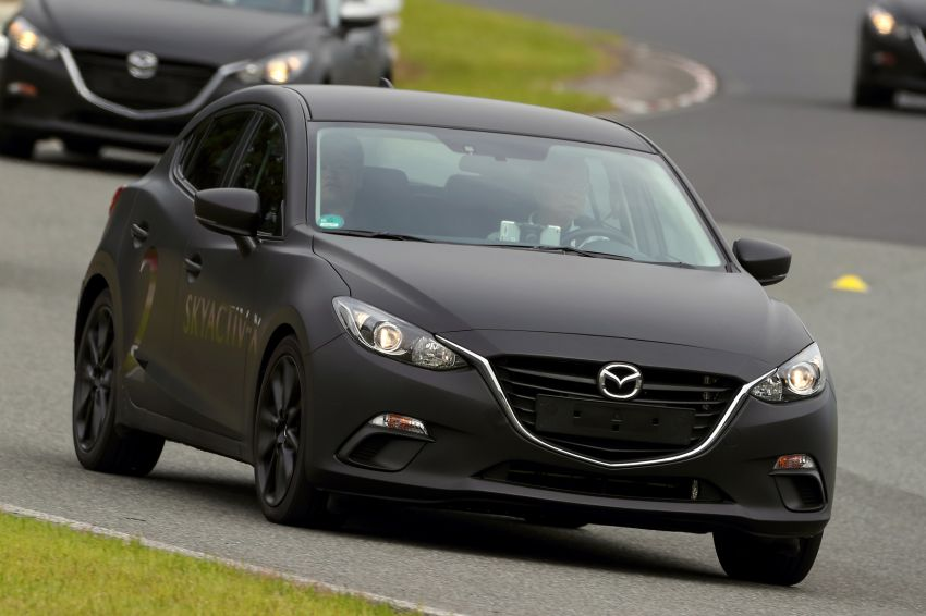 DRIVEN: 2019 Mazda 3 prototype with SkyActiv-X engine – is a high-tech petrol mill still relevant? Image #824916