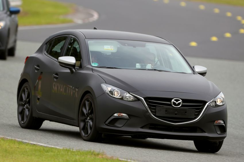 DRIVEN: 2019 Mazda 3 prototype with SkyActiv-X engine – is a high-tech petrol mill still relevant? Image #824917