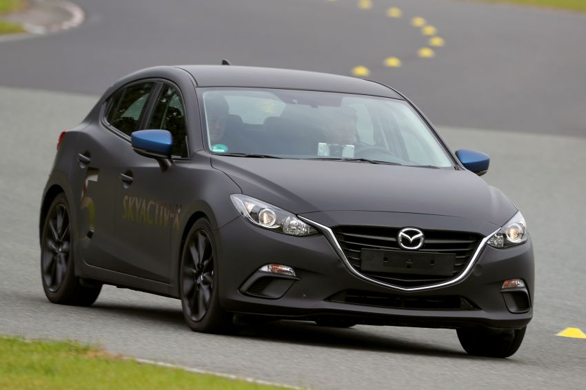 DRIVEN: 2019 Mazda 3 prototype with SkyActiv-X engine – is a high-tech petrol mill still relevant? Image #824918