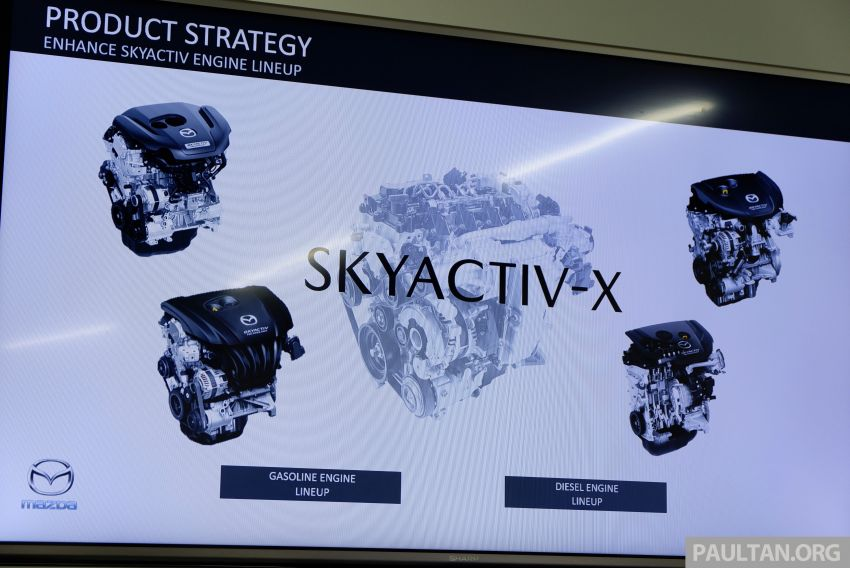 DRIVEN: 2019 Mazda 3 prototype with SkyActiv-X engine – is a high-tech petrol mill still relevant? Image #828005
