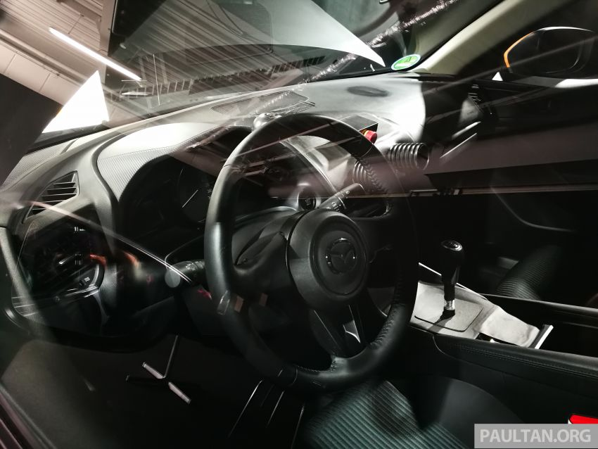 DRIVEN: 2019 Mazda 3 prototype with SkyActiv-X engine – is a high-tech petrol mill still relevant? Image #828015