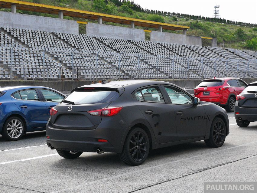 DRIVEN: 2019 Mazda 3 prototype with SkyActiv-X engine – is a high-tech petrol mill still relevant? Image #828021