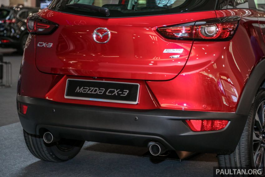 2018 Mazda CX-3 facelift previewed in Malaysia – RM121,134 est, higher specs with blind spot monitor Image #831869