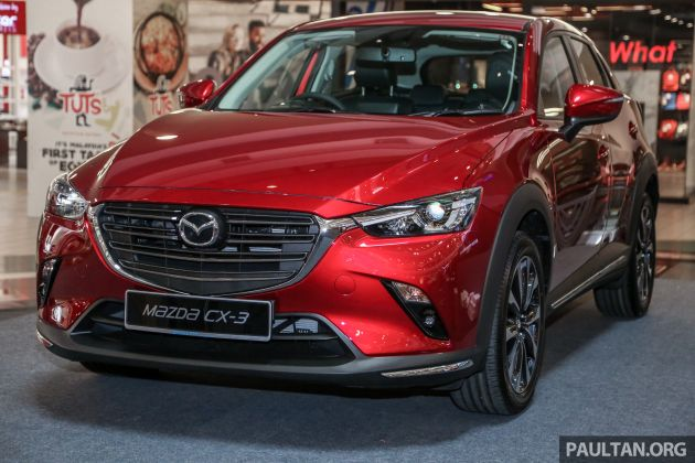 2018 Mazda Cx 3 Facelift Launched In M Sia Rm121k
