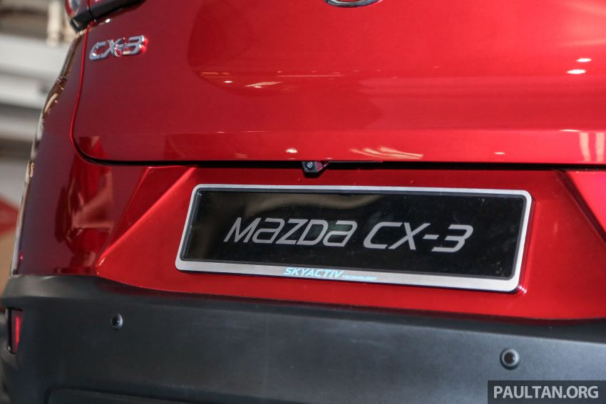 2018 Mazda CX-3 facelift previewed in Malaysia – RM121,134 est, higher specs with blind spot monitor Image #831873