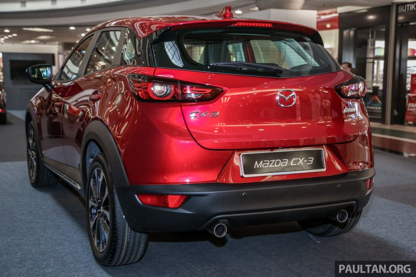 2018 Mazda CX-3 facelift previewed in Malaysia – RM121,134 est, higher specs with blind spot monitor Image #831854