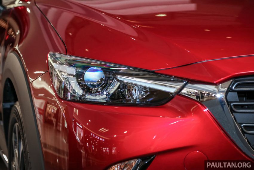 2018 Mazda CX-3 facelift previewed in Malaysia – RM121,134 est, higher specs with blind spot monitor Image #831859