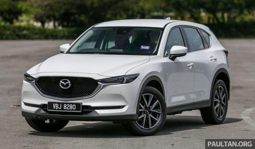 Driven Web Series 2018: best family SUVs in Malaysia – new Honda CR-V vs Mazda CX-5 vs Peugeot 3008 Image #823276