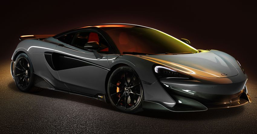 McLaren 600LT revealed – new Longtail with 600 PS Image #832752
