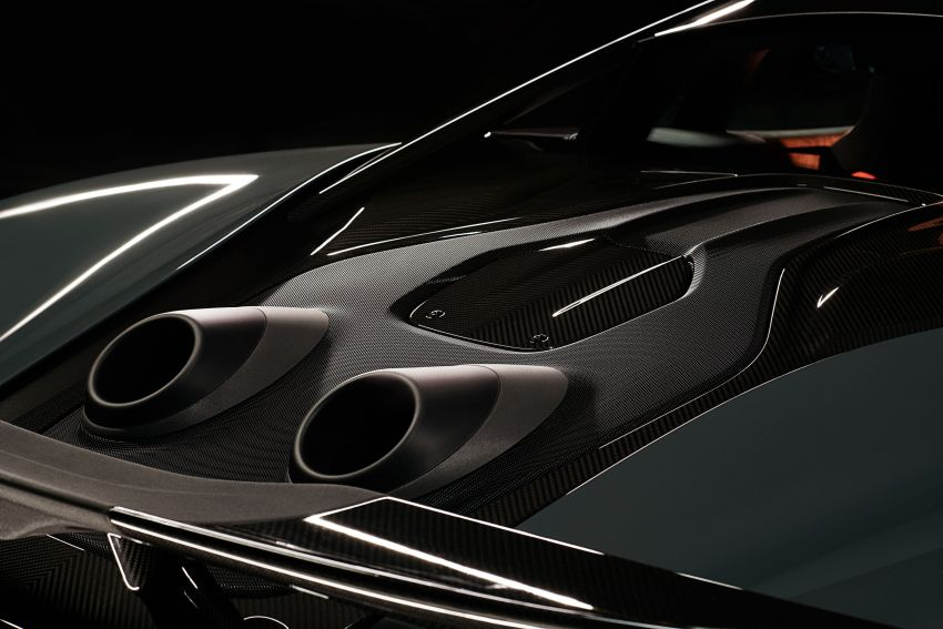McLaren 600LT revealed – new Longtail with 600 PS Image #832764