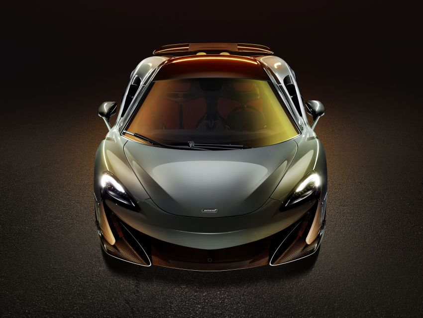 McLaren 600LT revealed – new Longtail with 600 PS Image #832753