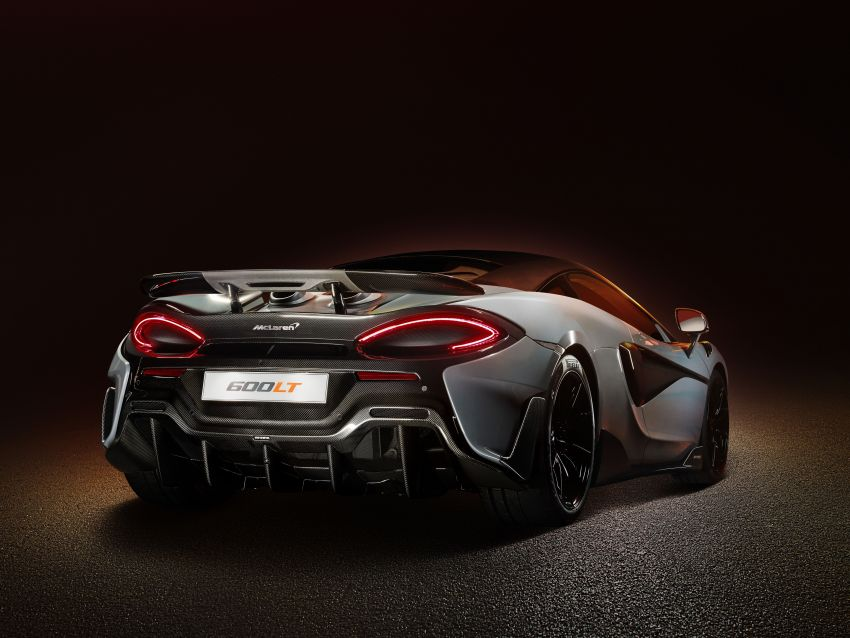 McLaren 600LT revealed – new Longtail with 600 PS Image #832755